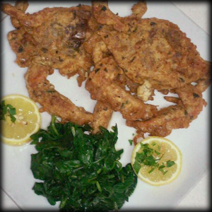 Our delicious soft shell crab